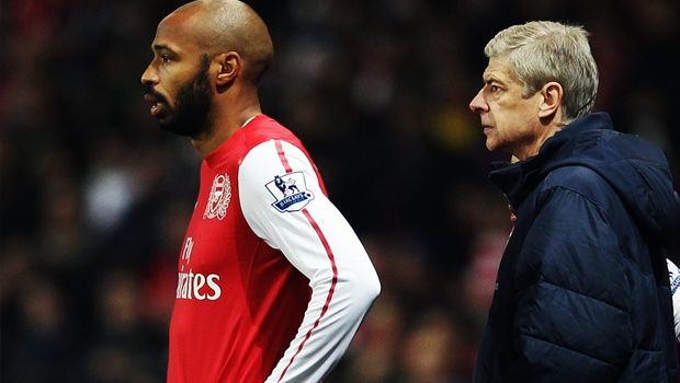 Thierry-Henry-Arsen-Wenger
