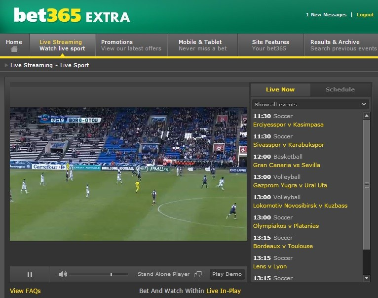 can t access bet365